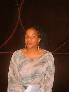 Tayari Jones book fan photo