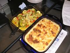Lemon Chicken and Chicken Au Gratin
