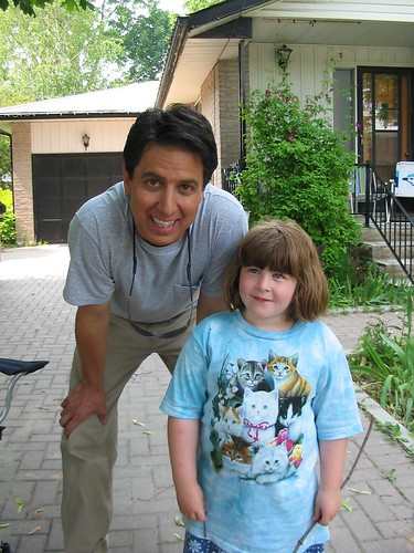 Ray Romano with Victoria by Macblanc.