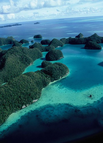 The Rock Islands en Palau