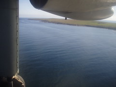 The shortest scheduled flight in the world (ShirleyGrant) Tags: scotland orkney aeroplane island westray papawestray loganair