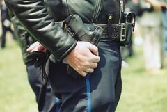 14.PeaceOfficersMemorial.WDC.15May1997 (Elvert Barnes) Tags: hands gun cops police crotch nationalpoliceweek exbsaintbp06 exbsaintbp06handworks 16thnationalpeaceofficersmemorial1997 3rdemeraldsocietypipebandmarch1997 emeraldsocietypipebandmarch 1997nationalpoliceweek