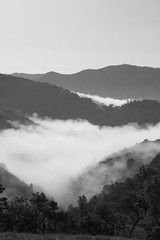 Fog over China Hole Photo