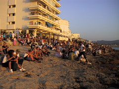 Cafe Del Mar Sunset Crowd