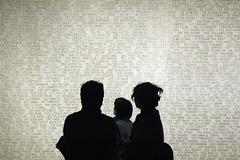 silhouettes (swissmiss) Tags: new york nyc swissmiss moma people silhouettes decipher code type