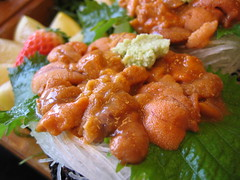 Uni, Uni, Uni.  - Sea urchin eggs -