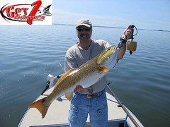 35lb redfish (Get 1 Charters) Tags: redfish mosquitolagoon floridafishing