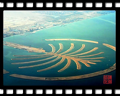 Dubai Palm Island (hk_traveller) Tags: trip travel vacation canon island photo interestingness interesting asia flickr dubai 300d canon300d united uae middleeast palm east traveller emirates explore turbo arab arabian 135 middle douban   top500  i500  view1000 turbophoto