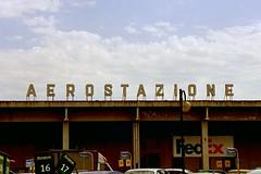 Pisa Airport in Italy