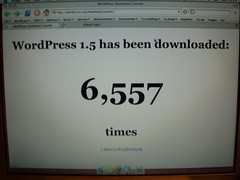 wp-downloadcounter (the ryan king) Tags: upgradeparty wordpress