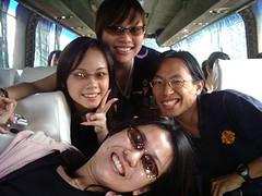 With Yedda, Elaine and Teck Liet (minishorts) Tags: leo ye