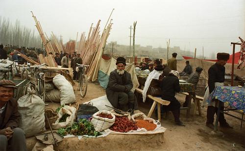 Sunday Market Kashgar