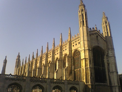 Kings College on a Sunny Winter