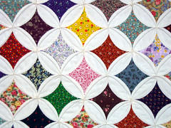 Cathedral Window Quilt (pauly...) Tags: color geometric closeup quilt amiko cotc mostviewed cathedralwindows