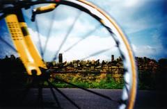 bike race #6 (lomokev) Tags: england sky bike wheel stone wall race countryside top20action lomo lca xpro lomography crossprocessed xprocess country bikes games lomolca cycle agfa jessops100asaslidefilm agfaprecisa commonwealth commonwealthgames fahrrad vlo lomograph fiets mavic bicicletta agfaprecisa100 jessops cruzando ksyrium bicis precisa jessopsslidefilm rota:type=showall rota:type=composition rota:type=stilllife rota:type=movement file:name=cwg018