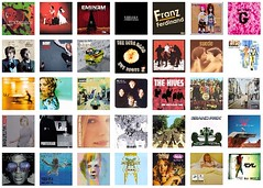 last.fm's list of my top albums