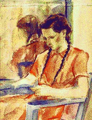 Juli painting 14 years