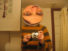 Mirror (stigeredoo) Tags: selfportrait me strange face mirror distorted underskog