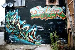 MLK Graffmural (Claudine) Tags: sanfrancisco graffiti graffmural mural malcomx mlkjr drmartinlutherkingjr mlk bayview hunterspoint dzyer