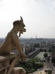 Notre Dame's Gargolyles, Paris (strulock) Tags: notredame paris gargoyle