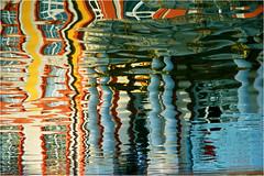 floating reflection #1 (BlueBreeze) Tags: abstract reflection castle water germany wasser bestviewedlarge domino schloss spiegelung bruchsal barockschloss thebiggestgroup brusl ffdspiegelungen