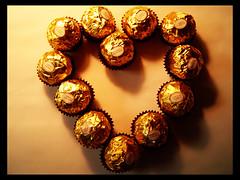 chocolate II (why not) Tags: love heart chocolate ferrerorocher corao amor
