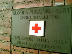 Finnish red cross (hugovk) Tags: cameraphone 2005 winter red sea ice sign suomi finland geotagged helsinki cross baltic helsingfors february finnish hvk uusimaa nyland southernfinland erottajankatu geo:lat=60159629 geo:lon=24954865 finnishredcross hugovk geo:country=finland meta:exif=none uudenmaanmaakunta geo:locality=helsinki geo:county=uudenmaanmaakunta geo:region=southernfinland geo:neighbourhood=erottajankatu