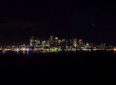 Downtown Boston At Night (Kevin Lawver) Tags: boston w3c techplen downtown night 2005 march