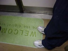 Welcom (Spacecake) Tags: anonymouslegs massrapidtransit singapore welcom utatahood utatagettingaround