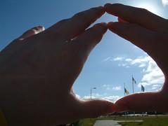 Triangulating the sky