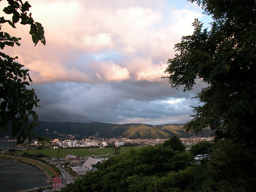 suwa-ko (lake suwa)