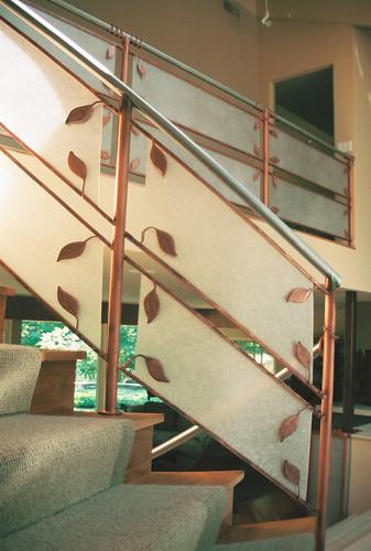 Stair Railing @ the Saffir's : :