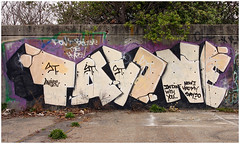 Tayone (funkandjazz) Tags: sanfrancisco california graffiti tay tayone