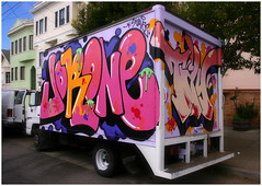 Jor One, Tay (funkandjazz) Tags: sanfrancisco california truck graffiti tay jor jorone