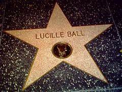 Lucille Ball Hollywood Star