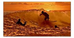 Sunset Curl (hodad66) Tags: hawaii tube surf wave 510fav surfart surfingart