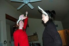 both bunnies bouncing (dooce) Tags: moab