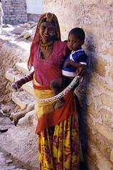 Jewellery seller, Jaisalmer - by Dey