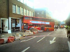 Bus_Crash_(distant)_220305 (finkangel) Tags: bus london geotagged king cross crash location gps kingscross geo fink finkangel geotag londonbus 240105 buscrash yahoomaps gpslocation onmap geotargetted geotarget