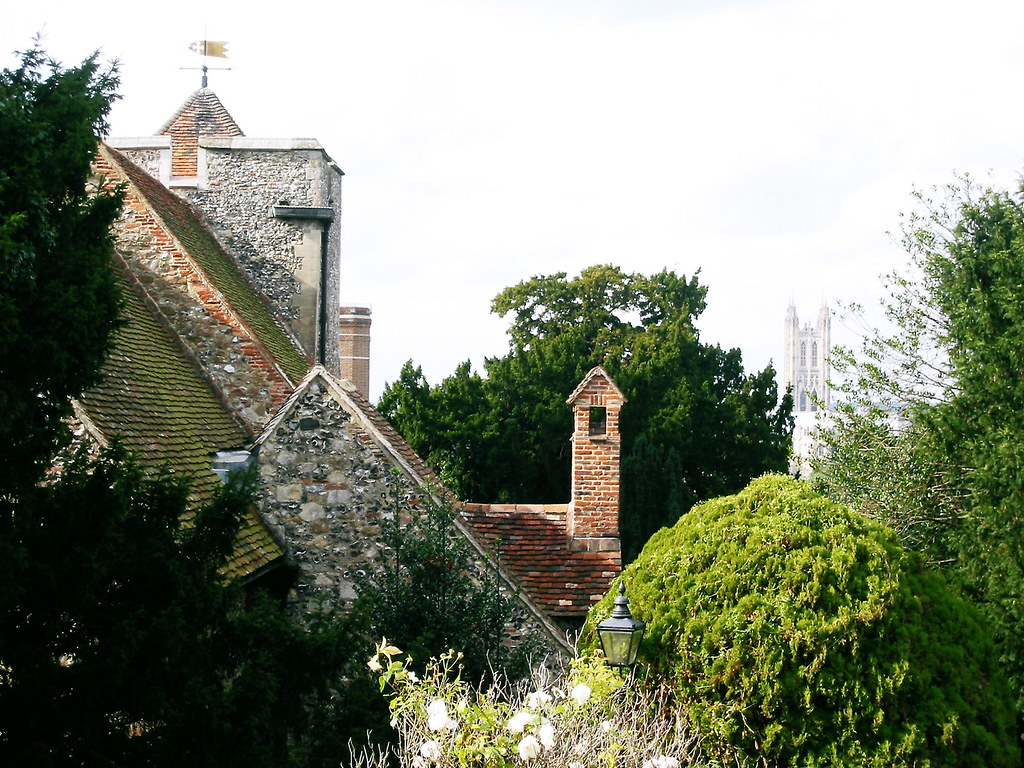 A View from Canterbury's Oldest Church