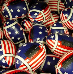 american football (zen) Tags: 20030926 gifts footballs stars stripes flagabuse