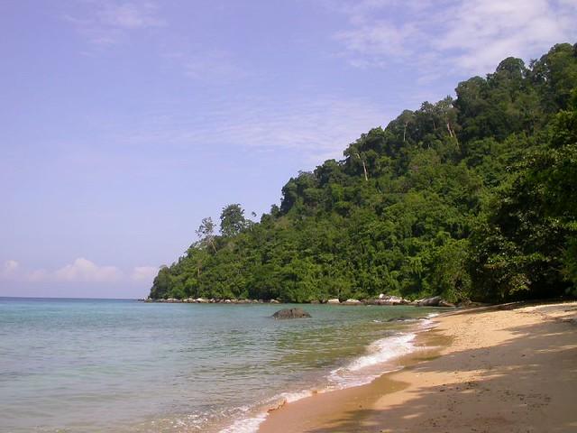 Panuba Beach, Pulau Tioman, Malaysia