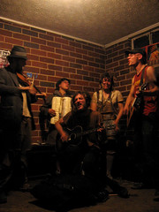 The Dead Man Street Orchestra (aphasiafilms) Tags: boxcar railriders rails folk cajunfolk fiddle accordian orchestra deadmanstreet awesome totallyawesome washboard tightpockets