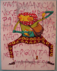 os gemeos show (BIGAWK) Tags: brasil brazil osgemeos character characters art create draw drawing graff graffiti illustration sticker sketch painting urban streetart os gemeos family
