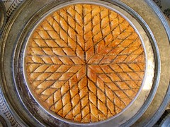 Baklava (Kel Patolog) Tags: kelpatolog inkumgezisi patoloji turkey baklava pastry sweet orange food round circle patterns