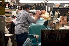 Mission Street (Lucas J. Shuman) Tags: sf palace barber playboy paris window mission