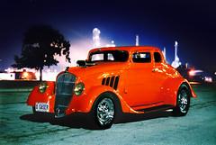 Night Photography (Freddie jr) Tags: street nightphotography ontario canada film car topv111 race wow wonder interestingness topv333 topv444 favme topv222 dunn sarnia rod collins willys 1933 willeys slidefc1 slidessc