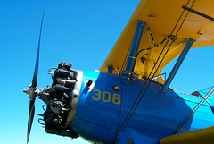 Stearman biplane, 2003 (artandscience) Tags: stearman biplane airplane conway washington digital dc290