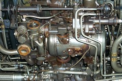 Blackbird motor, 2004 (artandscience) Tags: blackbird motor aircraft spyplane duxford england digital dc290