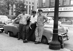 Hacking (joeldinda) Tags: bw wow fifties taxi michiganfavorites notbyme kalamazoo 110fav firefighters taxicab kalamazoovicinity rogerdinda cabbies martinsernstinger joeldinda